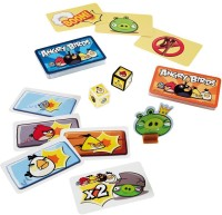 Mattel Travel Card Games Angry Birds (Multicolor)