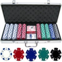 Protos 500 Poker Chips Casino Counters (Red, Blue, White, Black, Green)