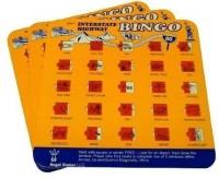 Regal Games Travel Auto Roadtrip Bingo Vacation Family I Spy Set Of 3 (Orange)