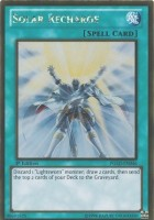 Yu-Gi-Oh! Solar Recharge (Pglden046) Premium Gold 1St Edition Gold (Green)