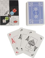 Bs Spy Party Poker Broad Cards Importedd Duplex Centered Board (Blue)