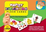 MindWealth Learning & Educational Toys MindWealth Krazy Numbers Flash Cards With Ring