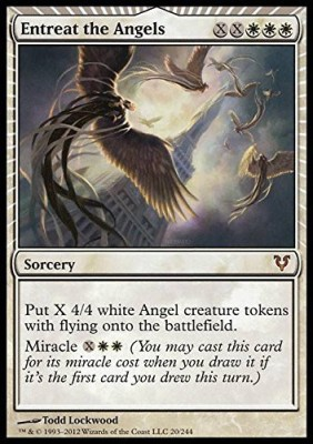 Magic: the Gathering Card Games Magic: the Gathering Entreat The Angels Avacyn Restored