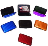 Glitters Pack Of 7 10 Card Holder (Set Of 7, Multicolor)