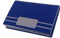 Grace Fashion Villa 20 Card Holder (Set Of 1, Blue)