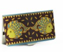 Mad(e) In India Madhubani Visiting, 20 Card Holder - Set Of 1, Multicolor