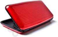 Aluma 6 Card Holder Set Of 1, Red
