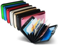 Glitters Pack Of 8 10 Card Holder (Set Of 8, Multicolor)