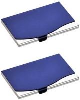 IHomes 20 Card Holder (Set Of 2, Blue)