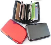 Glitters Pack Of 3 10 Card Holder (Set Of 3, Multicolor)