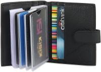 Hide & Sleek Soft Leather Credit 20 Card Holder: Card Holder