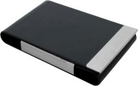 Jags Jai 1, 20 Card Holder (Set Of 1, Black, Silver)