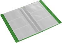 Ecoleatherette 3 Visiting Card Book 3vcb.V.Green, 120 Card Holder (Set Of 1, Green)