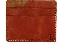Kraftsmen Elite Collection KEL015, 6 Card Holder (Set Of 1, Brown)