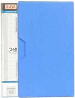 Saya 240 Card Holder (Set Of 1, Blue)