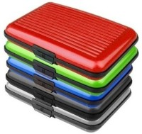 Lavi 5 Unit Universal 6 Card Holder (Set Of 5, Red, Green, Blue, Black, Grey)