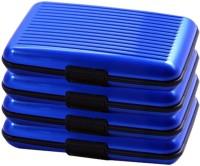 Jazam 6 Card Holder (Set Of 4, Blue)