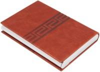 7Trees Magnetic Closure 20 Card Holder (Set Of 1, Brown) - CHDEK5CWAWUZCZAP