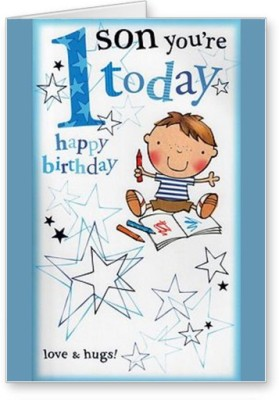 Lolprint Son Happy 1st Birthday