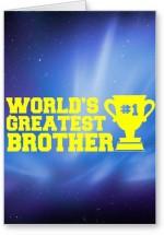 Lolprint World's Greatest Brother Rakhi