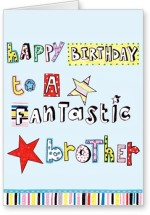 Lolprint Happy Birthday To A Fantastic Brother