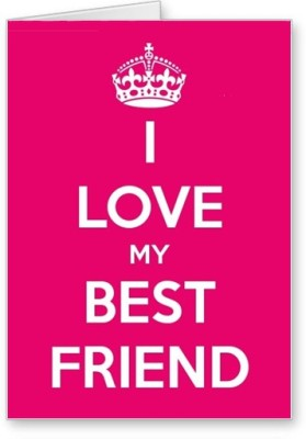 Lolprint Love Best Friend Friendship Day