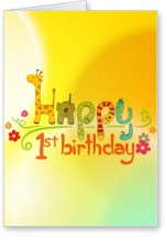 Lolprint Happy 1st Birthday