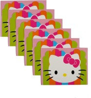 Funcart Hello Kitty Invitation Card (Multicolor, Pack Of 6)