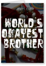 Lolprint World's OKAYEST Brother Rakhi