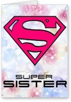 Lolprint Super Sister Rakhi Greeting Card (Multicolor, Pack Of 1)