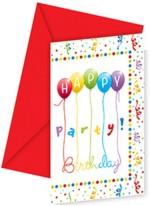 Disney Happy Birthday Streamers Envelopes