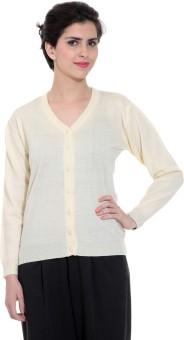 Tab 91 Women's Button Solid Cardigan - CGNEBY6YSAJBWHSV