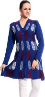 Tab 91 Women's Button Self Design Cardigan - CGNE26PM7HG7FGHY
