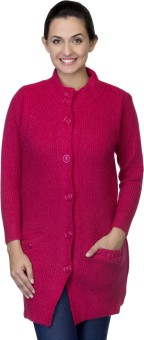 One Femme Women's Button Solid Cardigan - CGNEDAJHHHBNHG5M