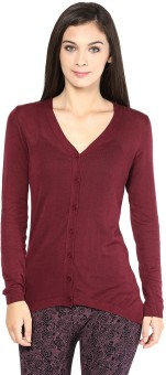 Annabelle By Pantaloons Women's Button Solid Cardigan - CGNEA39VZEZ8GUYE