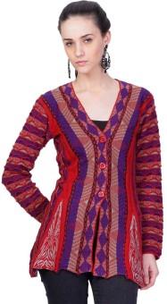 Montrex Women's Button Solid Cardigan - CGNEDJXRHD72ZFGF