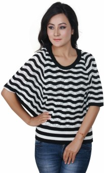 Riverside Women's Button Striped Cardigan