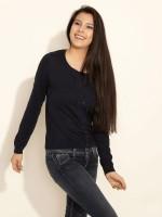 Esprit Women's Button Solid Cardigan