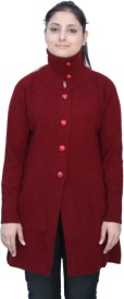 Romano Women's Button Solid Cardigan