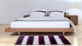 loomkart Purple Polyester Runner