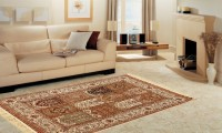 Miras Carpet Rugs Silk Throw Rug - CPGE5J34YH3WA9RE