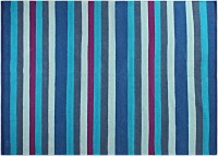 Saral Home Blue Cotton Area Rug 120 Cm  X 180 Cm