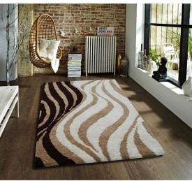 Flooring India Company Beige Polyester Carpet