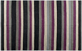 Saral Home Black Cotton Area Rug