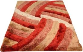 Presto Red Polyester Carpet