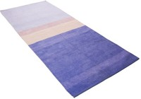 Pasricha Handlooms Blue Cotton Area Rug 80 Cm  X 180 Cm