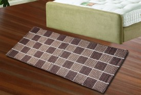 JBG Home Store Brown Cotton Area Rug