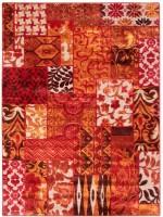 Riva Carpets Calais Red-95198 Cotton Area Rug
