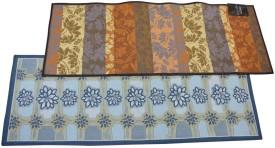 The Fancy Mart Multicolor Polypropylene Carpet