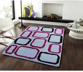 Flooring India Company Silver Polyester Carpet